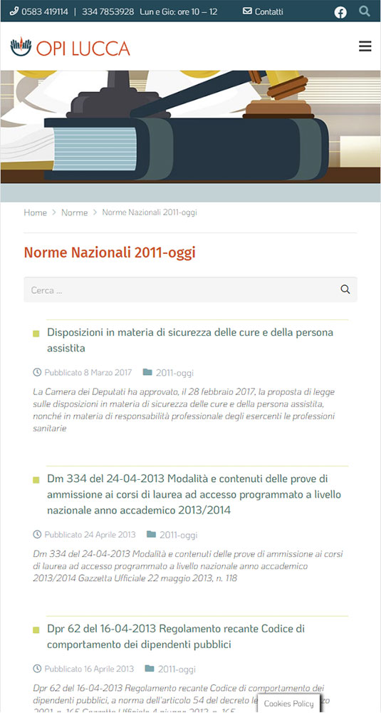 sito opi mobile